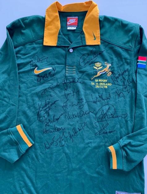 1998 Springbok Rugby Jersey