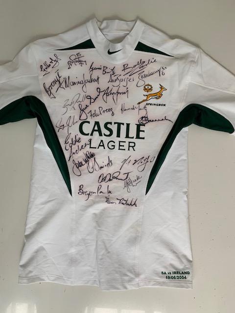 2004 Springbok Rugby Jerseys