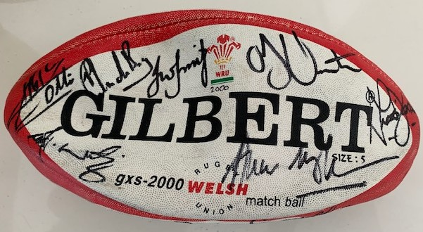 2000 Welsh Rugby Ball