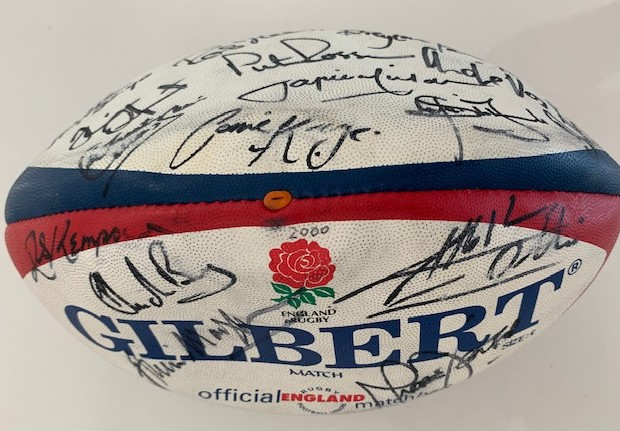 2000 England Rugby Ball
