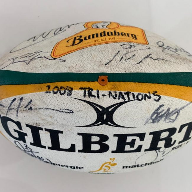 2008 Tri-Nations Wallabies Rugby Ball