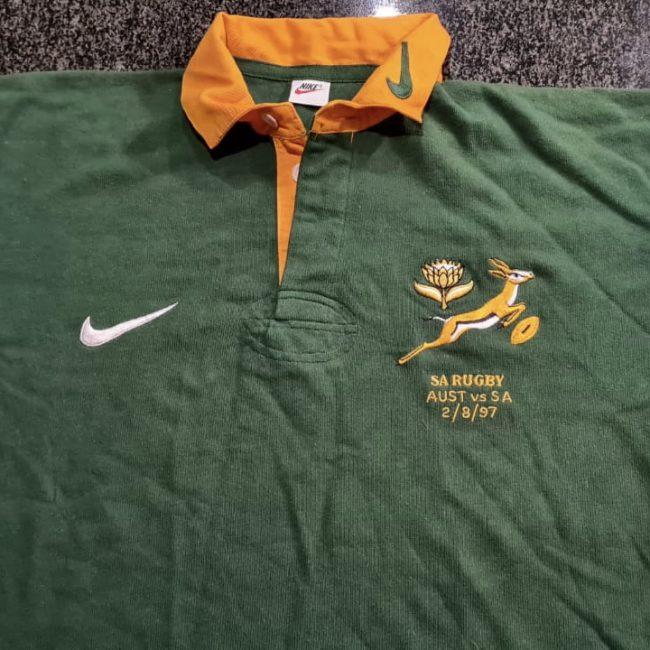 Japie Mulder Springbok Rugby Jersey